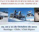 Primer Encuentro Internacional de Profesionales de Montaña Expo Andes 2011