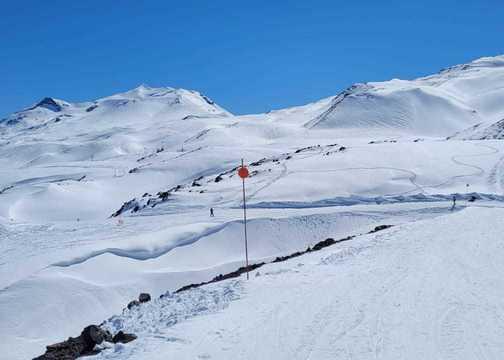 Nevados de Chillán hace unos días