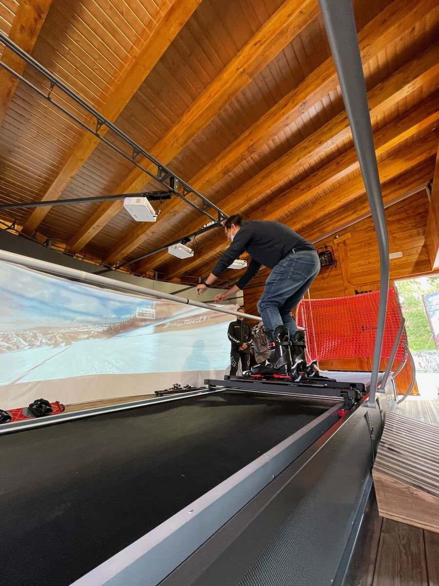 Simulador de esqui de Vallnord Pal Arinsal