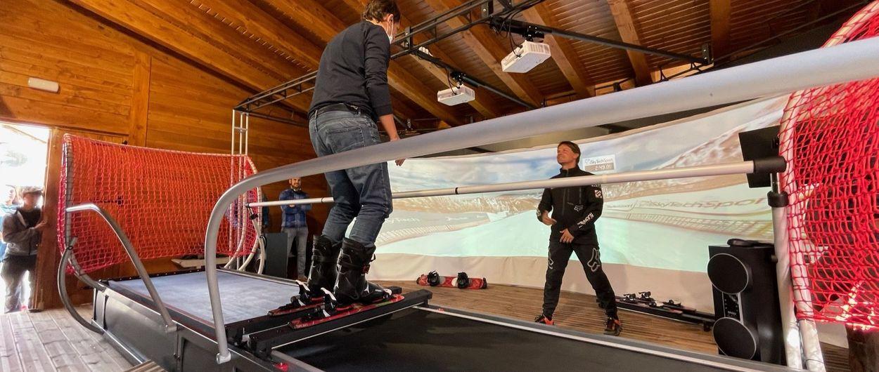 Inaugurado el simulador de esquí de Esquiades.com y Vallnord-Pal Arinsal