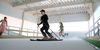 Mejora tu técnica en el simulador de esquí de la Universidad de Granada