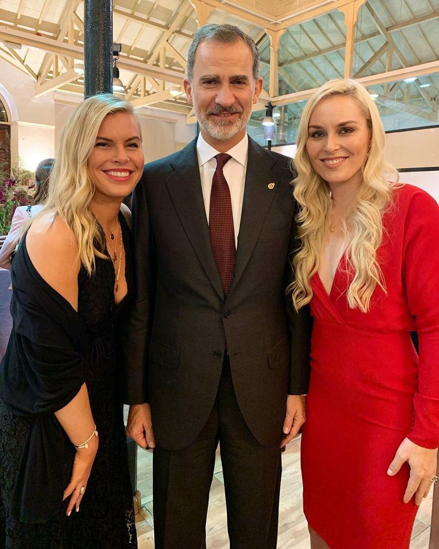 Felipe VI con Lindsey Vonn