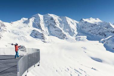 Diavolezza también abrió su temporada de esquí el sábado sin pistas en glaciar