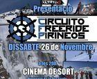 Presentación del Circuito Freeride Pirineos en Sort