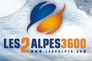 Fotografía del logotipo de Les 2 Alpes