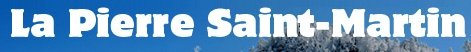 Fotografía del logotipo de La Pierres Saint-Martin