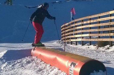 Milagro navideño: ¡abre el snowpark!