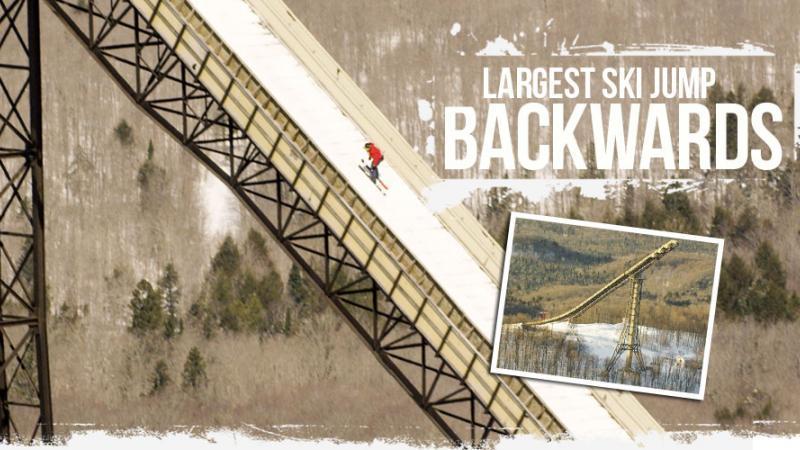 El mayor salto hacia atrás en la historia del ski