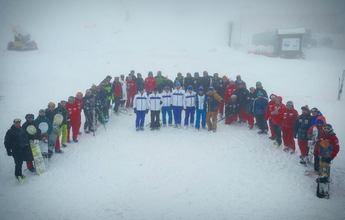 Valgrande-Pajares acoge el curso para profesores de esquí