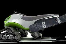 Snowmobile Concept....motonieve con cara de malo