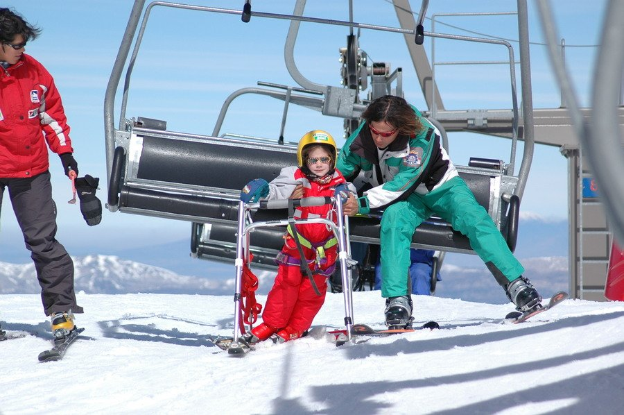 Quince años con la mejor oferta de esquí adaptado
