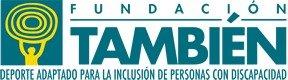 Fotografía del logotipo de la fundación también