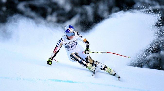 Lindsey Vonn vence en Garmisch y recorta el record de Stenmark