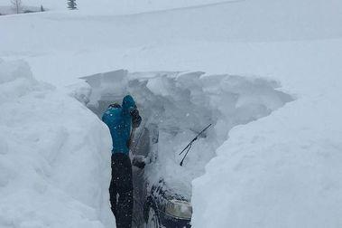 Tignes bate su récord de acumulacion de nieve en un mes de enero