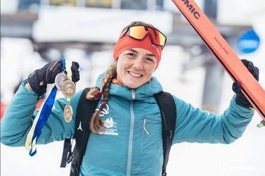 La granadina Ana Alonso se lleva el Campeonato de España de esquí de montaña