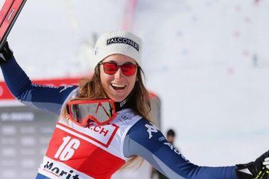 Sofía Goggia se hace suya la victoria del Descenso de Crans Montana