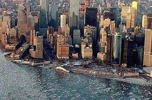 Manhattan congelado