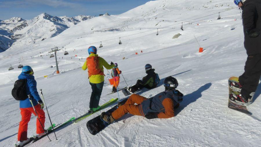 De Turín a Canazei por el Tirol. Viajando en solitario, esquiando en compañía.