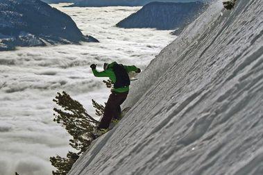 Abre Black Ibex: la pista de esquí más inclinada de Austria