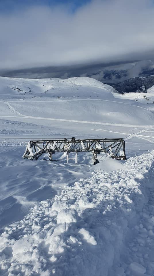 Remonte en glaciar Fonna