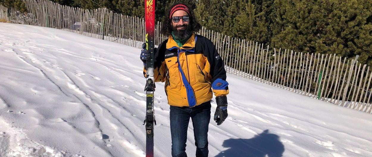 Retro ski en época actual