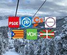 Elecciones generales 28A: ¿Sabes qué propuestas llevan los partidos para el mundo de la nieve?