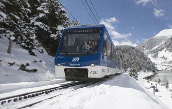 El tren cremallera de la Vall de Núria aumentará su capacidad