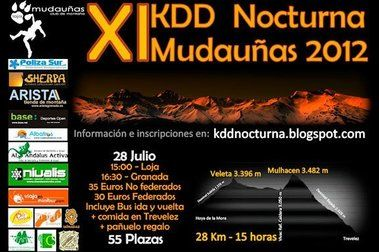 KDD Nocturna Mudauñas
