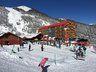 Zona de hoteles Alto Nevados y debutantes en nevados de Chillán en cota 1.700