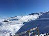 Vista del telesilla mirador al fondo de la imagen, en Nevados de Chillán