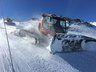 Pisanieves en Nevados de Chillán fresando en la pista Chueco