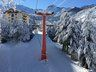 Subiendo por el telesilla Tata, en Nevados de Chillán