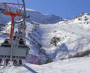 Con fabricación de nieve Nevados de Chillán se prepara para el invierno