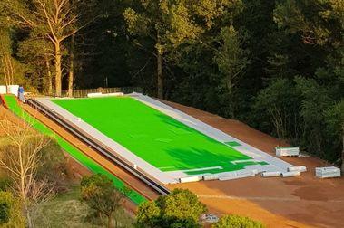 Valdelinares tendrá en unos días una pista de esquí para todo el año