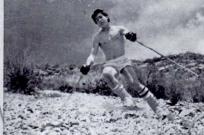 Ski on the rocks