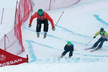 Circuito de Ski Cross TNT Tour En La Parva