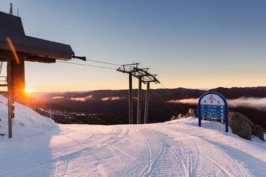 No hay ninguna estación de esquí abierta en Oceanía por la poca vacunación contra el COVID-19