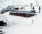 Nevando en la Cordillera Cantábrica