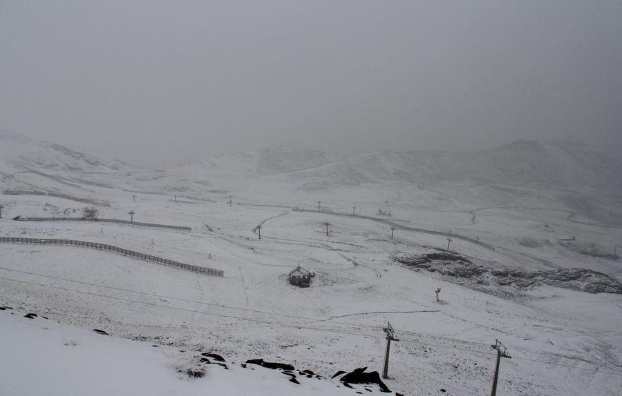 Sierra Nevada en otoño de 2020
