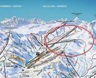 La estación de esquí de Formigal lanza su nuevo plano de pistas con los telesillas instalados