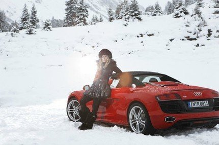 Lindsey Vonn - Audi photo shoot