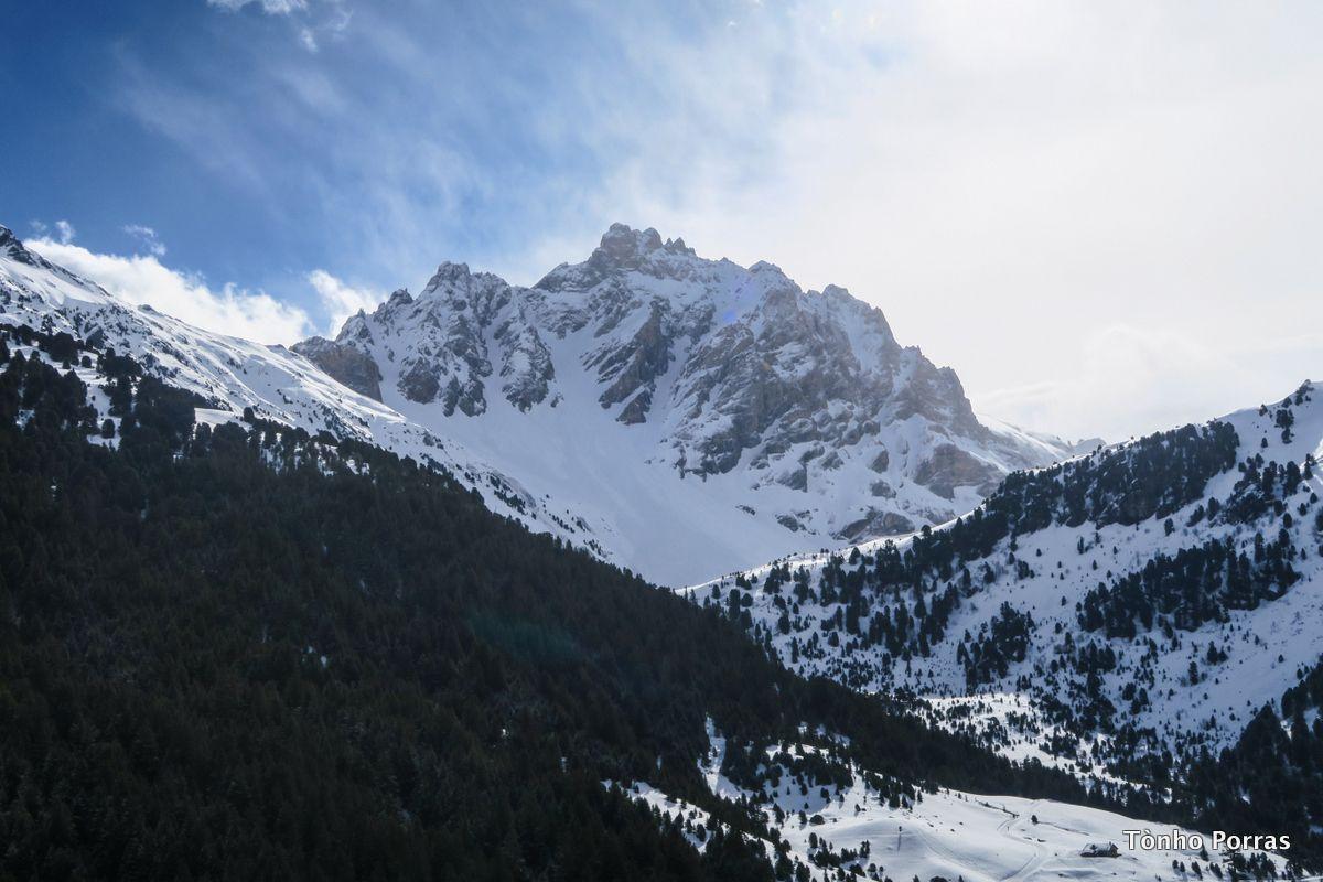 Les 3 Vallées en abril 2018