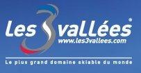 Fotografía del logotipo de Les 3 Vallées