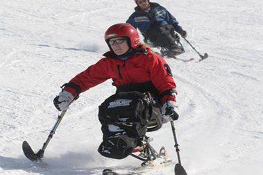 Jornada de puertas abiertas al esquí Adaptado en Valdelinares