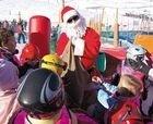 Papá Noel aparece en Grandvalira