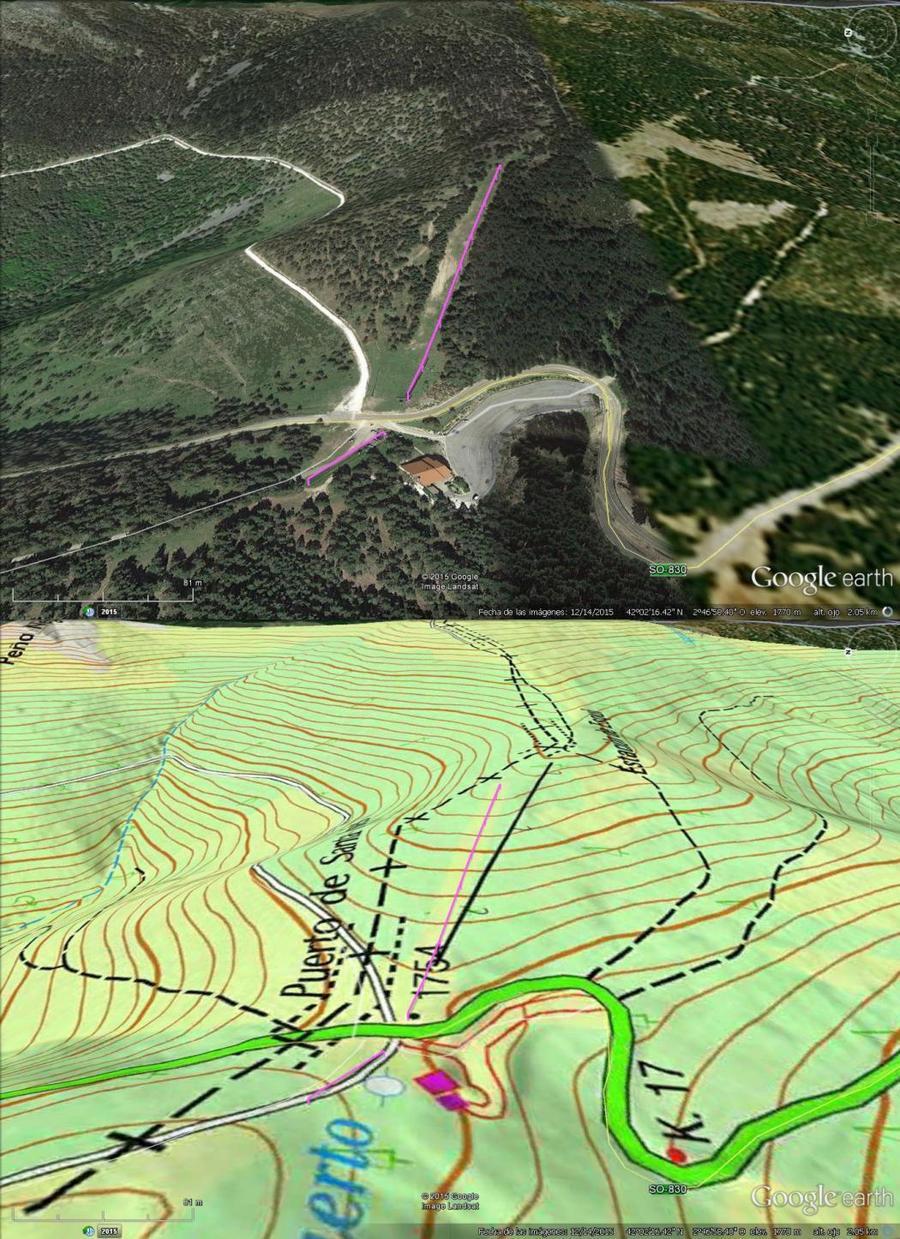 Vistas Google Earth Santa Inés 2015-16