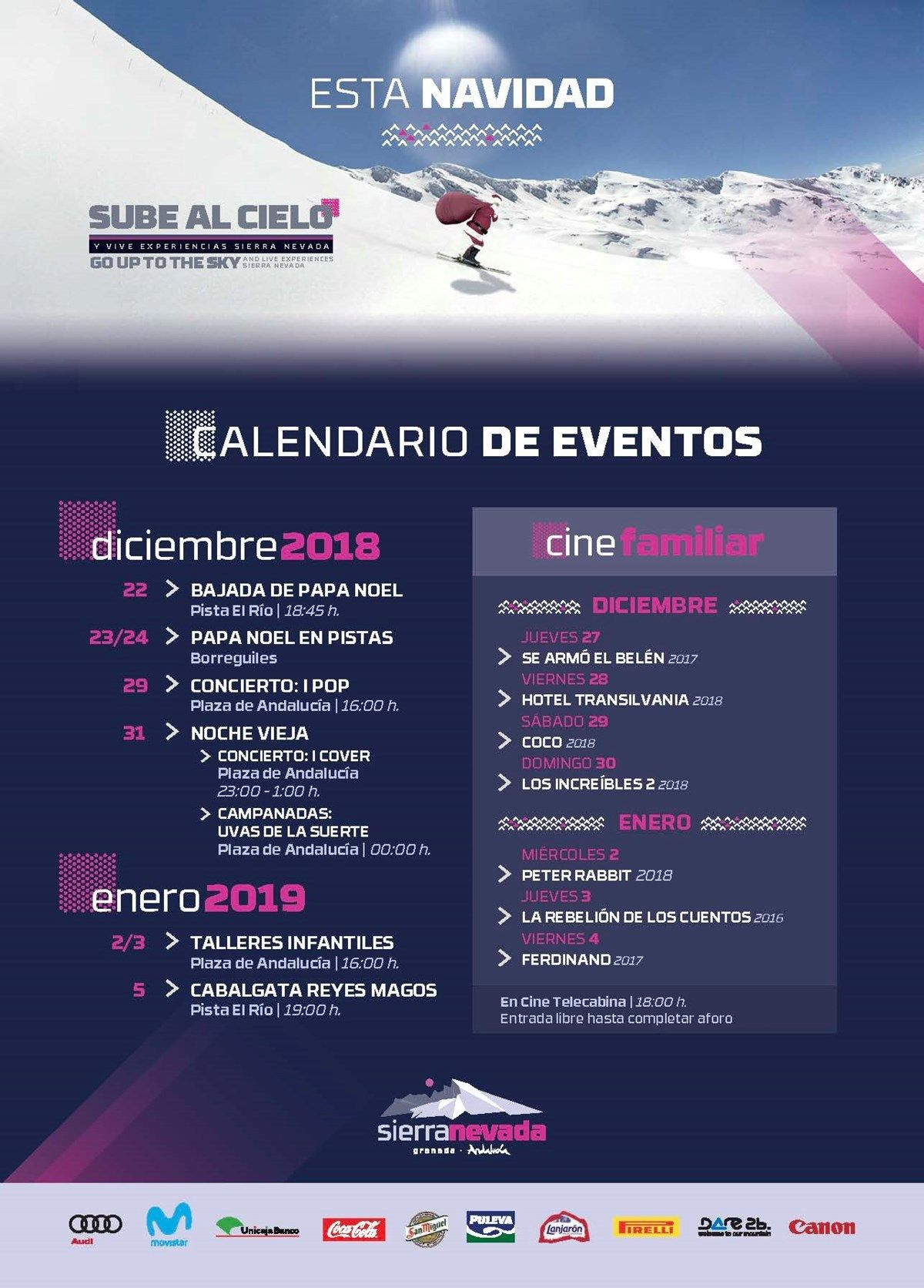 Programa de Navidad de Sierra Nevada