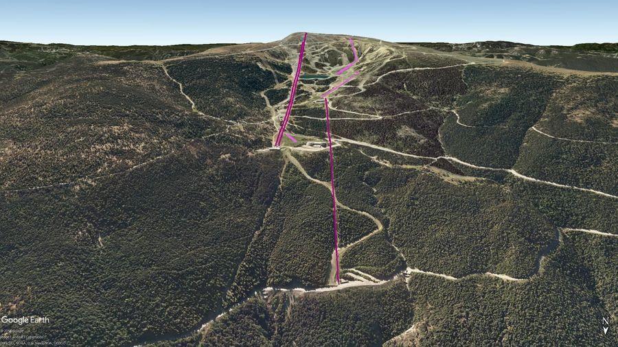 Vista Google Earth Port Ainé 2019/20
