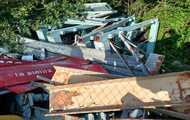 Vecinos de La Pinilla denuncian un vertedero ilegal junto a la estación de esquí