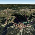 Vista Google Earth La Molina 2019/20